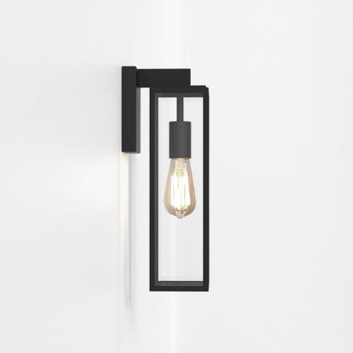 Astro Harvard Lantern Outdoor Wall Light Textured Black 1402011