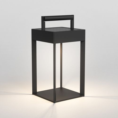 Astro Kuro 250 LED Solar-Powered Outdoor Floor Lamp Textured Black 1430001