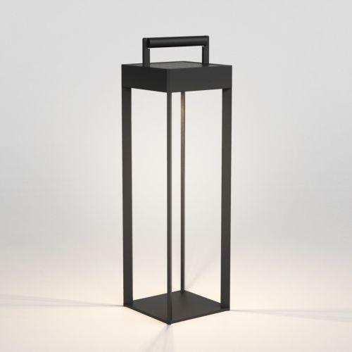 Astro Kuro 450 LED Solar-Powered Outdoor Floor Lamp Textured Black 1430002