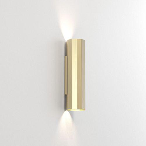 Astro Hashira 300 2 Lamp Wall Light Matt Gold 1442006