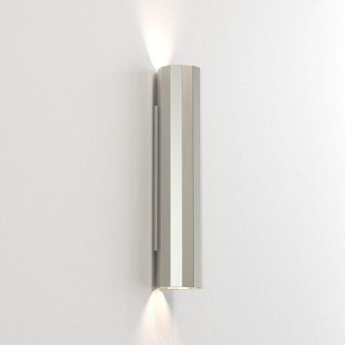 Astro Hashira 400 2 Lamp Wall Light Matt Nickel 1442007