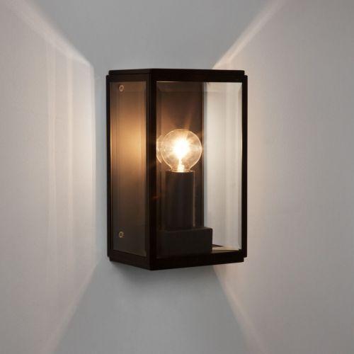 Astro Homefield 130 Outdoor Wall Light in Matt Black 1095013