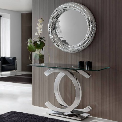 Anisa Console Table Stainless Steel REG/190945