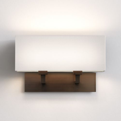 Astro Park Lane Twin Indoor Wall Light in Bronze 1080048