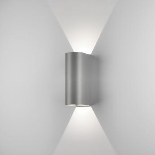 Astro Dunbar 255 LED Outdoor Wall Light in Textured Grey 1384021