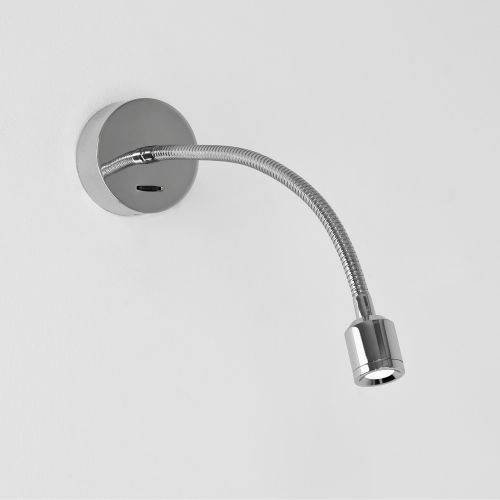 Astro Fosso switched LED Indoor Reading Light in Polished Chrome 1138005
