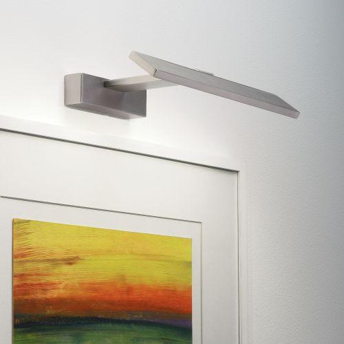 Astro Vermeer 300 2700K LED Indoor Picture Light in Matt Nickel 1188006
