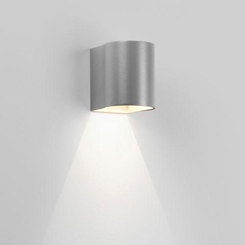 Astro Dunbar LED 100 Outdoor Wall Light Textured Grey 1384022