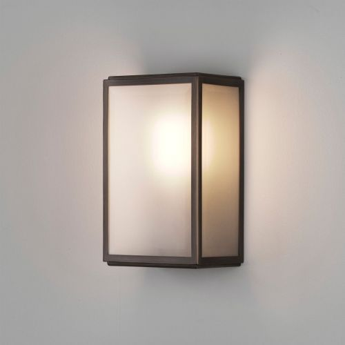 Astro Homefield Sensor 1095017 Single PIR Outdoor Wall Light Bronze
