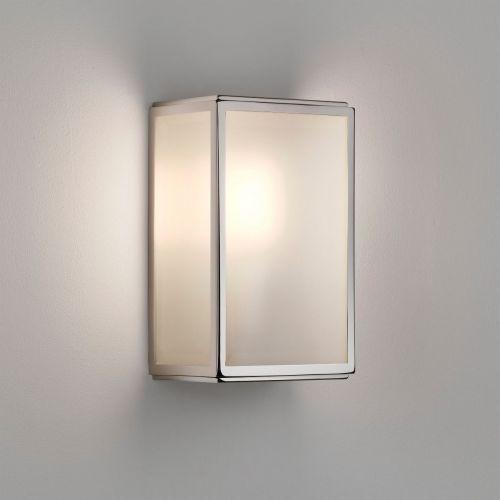 Astro Homefield Sensor Outdoor Wall Light in Polished Nickel 1095016