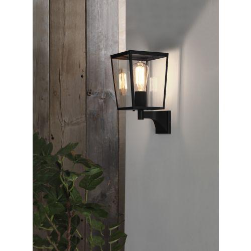 Astro Farringdon Outdoor Wall Light in Textured Black 1366001