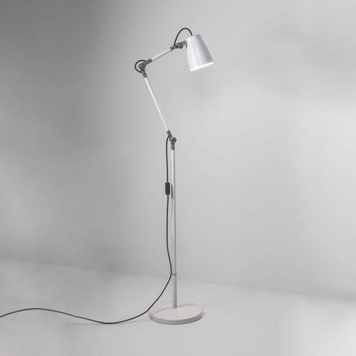 Astro Atelier Floor Base Indoor Floor Lamp in Matt White 1224008