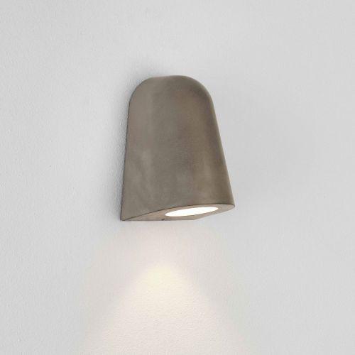 Astro Mast Light Coastal Wall Light in Matt Concrete 1317006