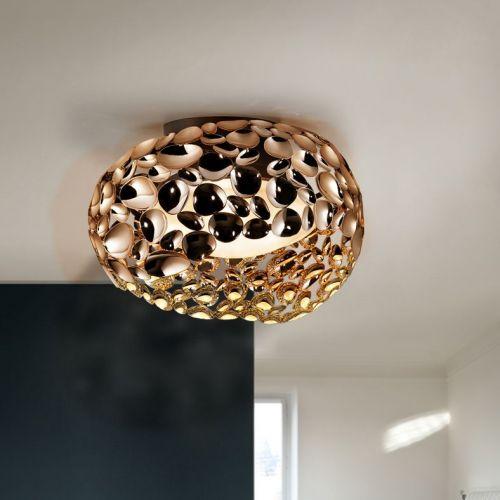 Schuller Narisa 266822N Ceiling Flush 5 Light Rose Gold