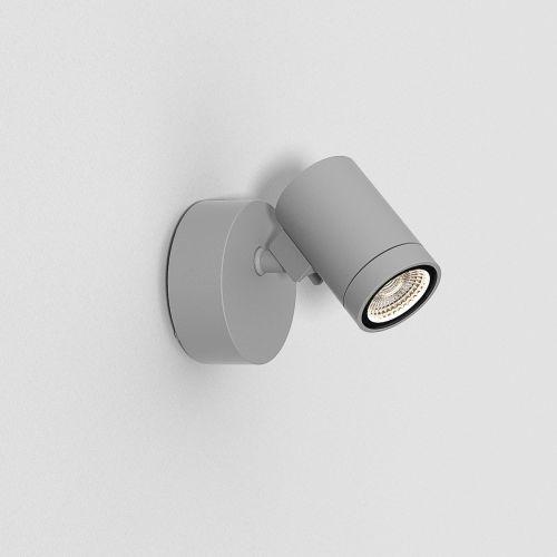 Astro Bayville Single Spot Outdoor Spotlight in Textured Grey 1401006