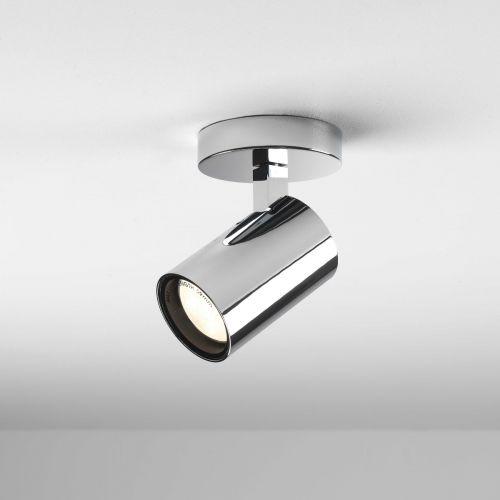 Astro Aqua Single Bathroom Spotlight in Polished Chrome 1393004