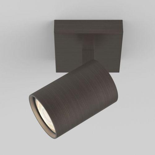 Astro Ascoli Single Indoor Spotlight in Bronze 1286004