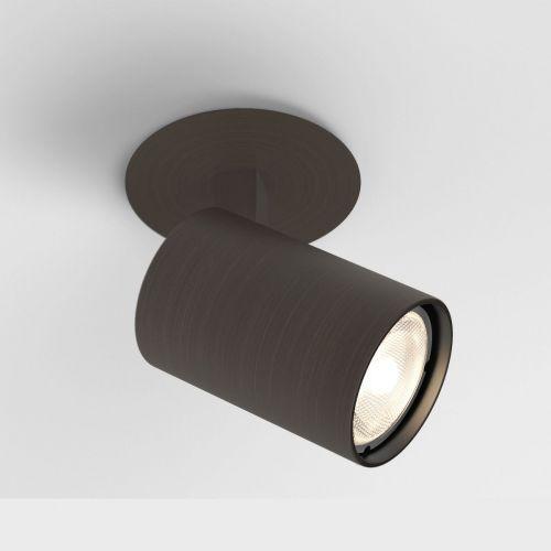 Astro Ascoli Recessed Indoor Spotlight in Bronze 1286022