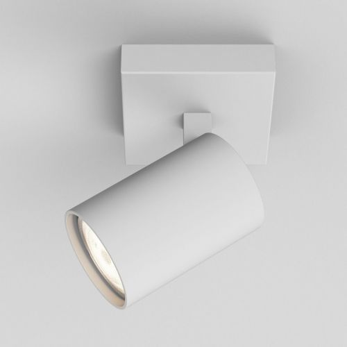 Astro Ascoli Single Indoor Spotlight in Textured White 1286001