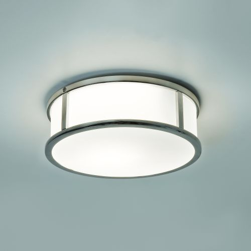Astro Mashiko Round 230 Bathroom Ceiling Light in Polished Chrome 1121021