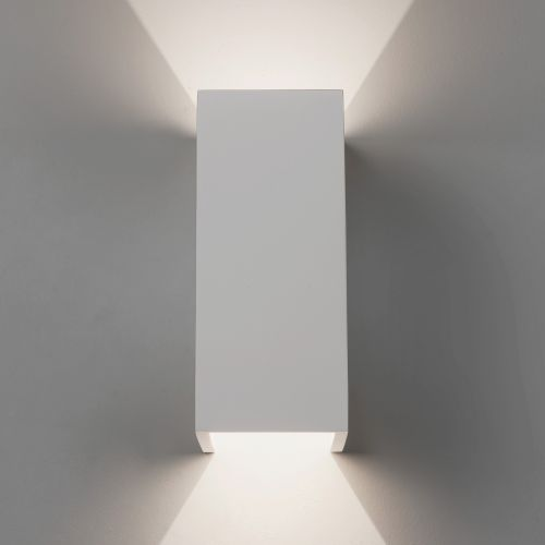 Astro Parma 210 LED 2700K Indoor Wall Light in Plaster 1187019