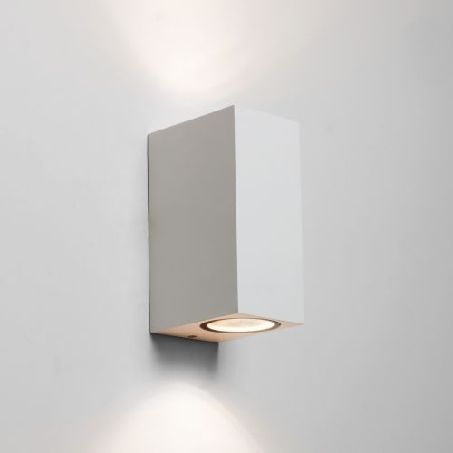 Astro Chios 150 Outdoor Wall Light in Textured White 1310006