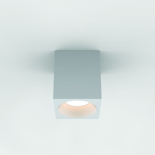 Astro Kos Square 140 LED Outdoor Downlight in Textured White 1326022