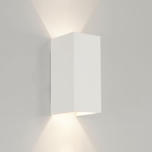 Astro Parma 210 LED 3000K Indoor Wall Light in Plaster 1187021