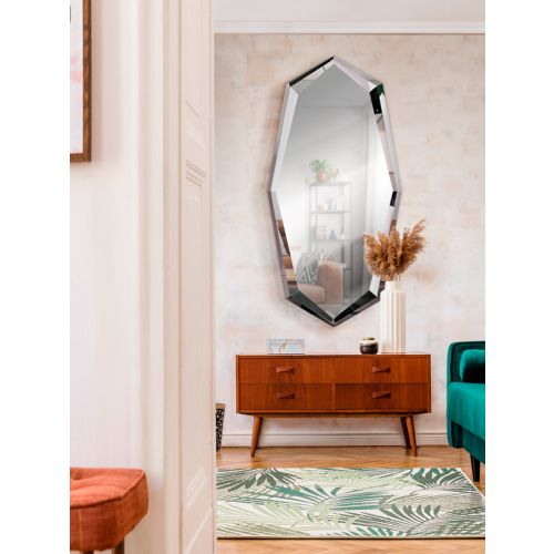 London Mirror Polished Steel Frame