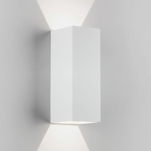 Astro Oslo 255 LED Outdoor Wall Light in Textured White 1298009