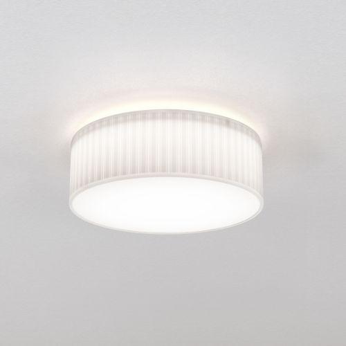Astro Cambria 380 Indoor Ceiling Light in White Fabric 1421003