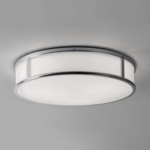 Astro Mashiko 400 Round Bathroom Ceiling Light in Polished Chrome 1121026