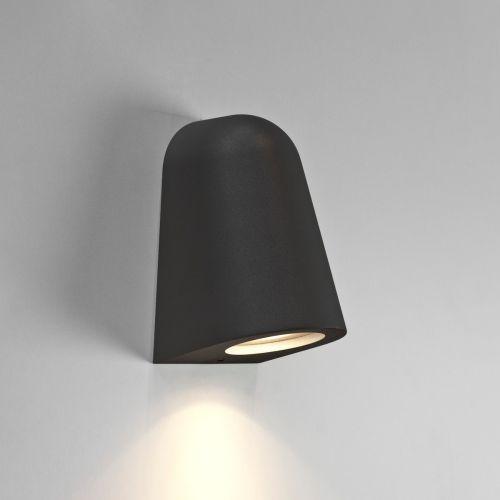 Astro Mast Light Outdoor Wall Light in Textured Black 1317011