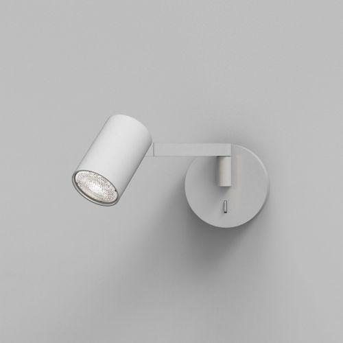 Astro Ascoli Swing Indoor Reading Light in Textured White 1286065