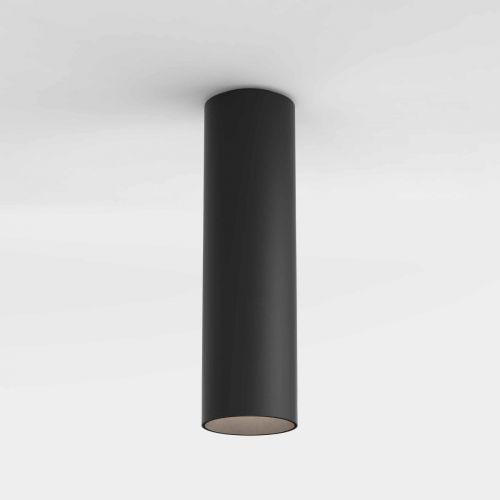 Astro Yuma Surface 250 Indoor Downlight in Textured Black 1399014