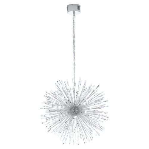 Eglo Ceiling Light G4 Pendant Chrome/Crystal Vivaldo 1 39262