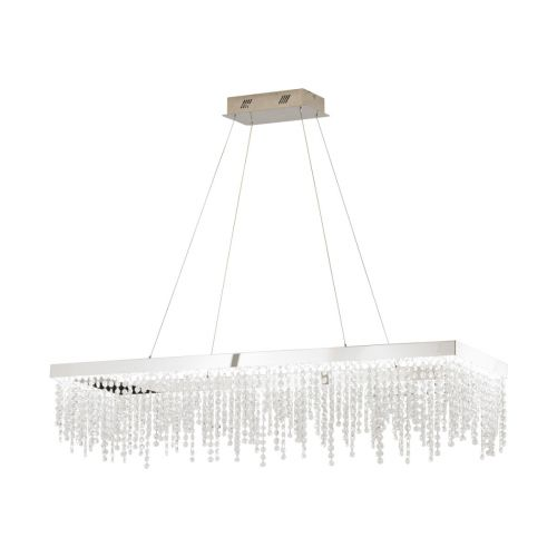 Eglo Ceiling Light LED Crystal Bar Pendant Antelao 39283