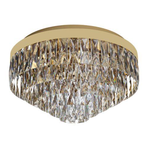 Eglo Ceiling Light 8 Light Gold-Optic/Crystals Valparaiso 39457