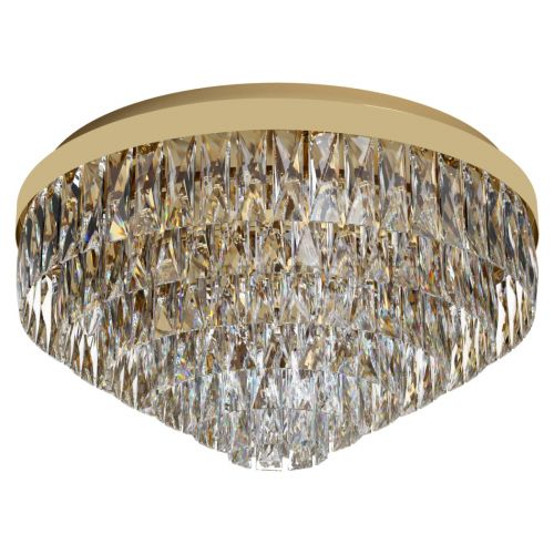 Eglo Ceiling Light 11 Light Gold-Optic/Crystals Valparaiso 39458