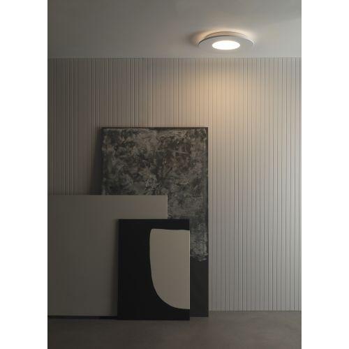 Astro Zero Round LED Indoor Ceiling Light in Matt White 1382002