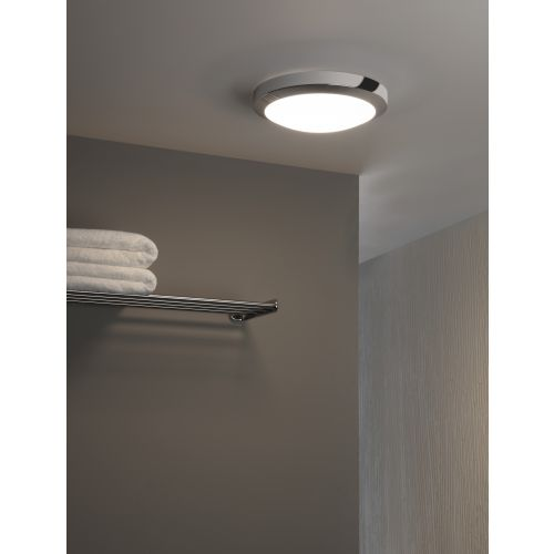 Astro Dakota 300 LED Bathroom Ceiling Light in Polished Chrome 1129007