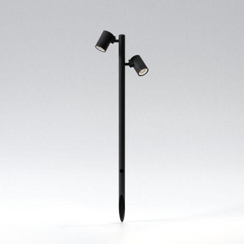 Astro Bayville Spike Spot 900 Twin Exterior Spotlight Textured Black 1401024