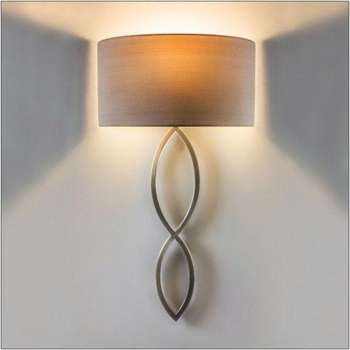 Astro Caserta Indoor Wall Light in Matt Nickel 1349002