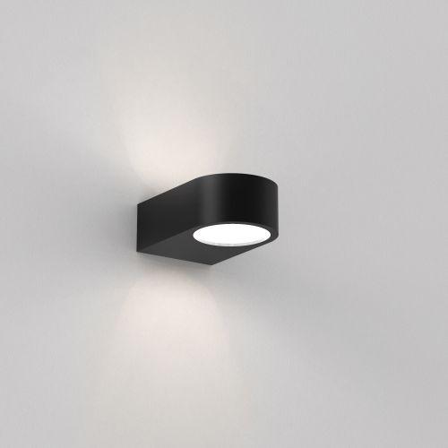 Astro Epsilon LED Bathroom Wall Light in Matt Black 1124007