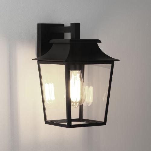 Astro Richmond Wall Lantern 200 Outdoor Wall Light in Textured Black 1340004