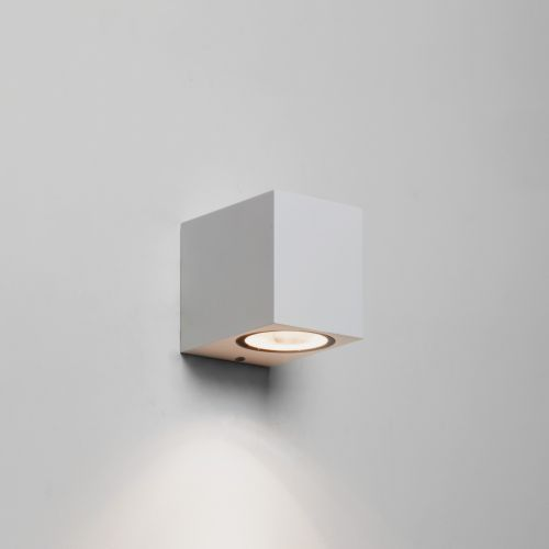 Astro Chios 80 Outdoor Wall Light in Textured White 1310005