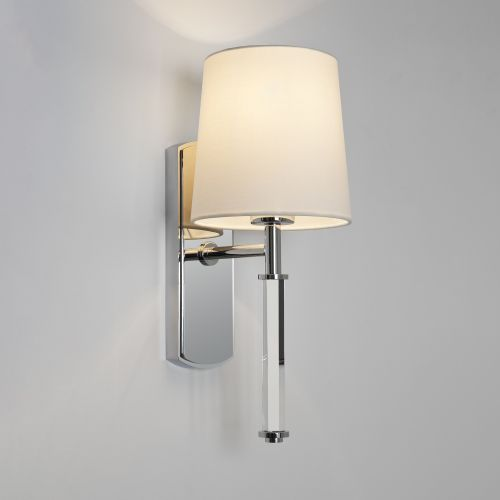 Astro Delphi Single Indoor Wall Light in Polished Chrome 1313002