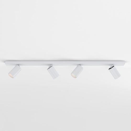 Astro Can 50 Four Bar Indoor Spotlight in Matt White 1396013
