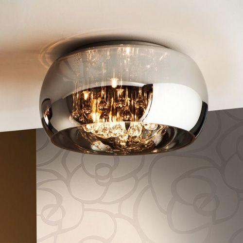 Schuller Argos 507939 Ceiling Flush 5 Light Fitting Chrome