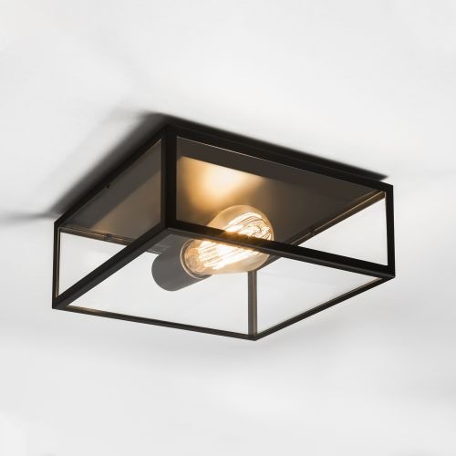 Astro Bronte Outdoor Ceiling Light in Matt Black 1353001